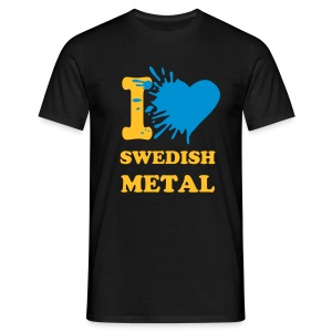 I love swedish metal - Men's T-Shirt