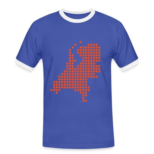 Heren shirt NEDERLAND - Mannen contrastshirt