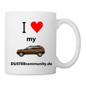 I love my Duster Tasse - Tasse