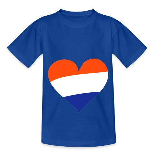 kids shirt Hartje Nederland - Teenager T-shirt
