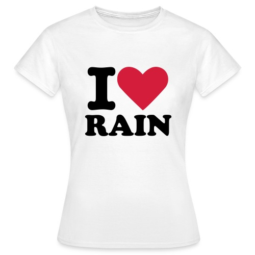 JIR I love Rain Shirt - T-skjorte for kvinner