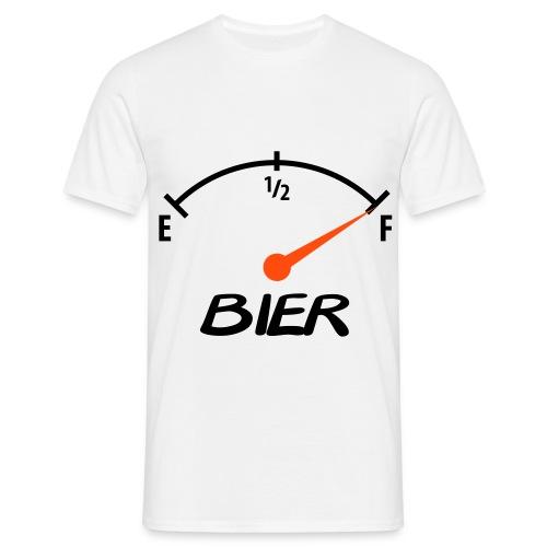 Bier tank - Mannen T-shirt