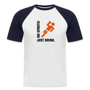 Drunken stupor! - Men's Baseball T-Shirt