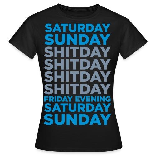 Days of the week - Women's T-Shirt