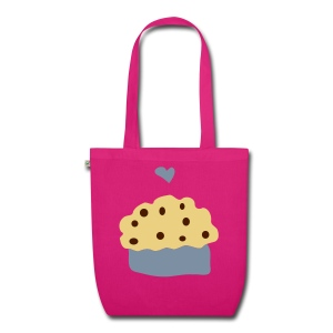 ''Muffin love'' Organic tote bag - EarthPositive Tote Bag