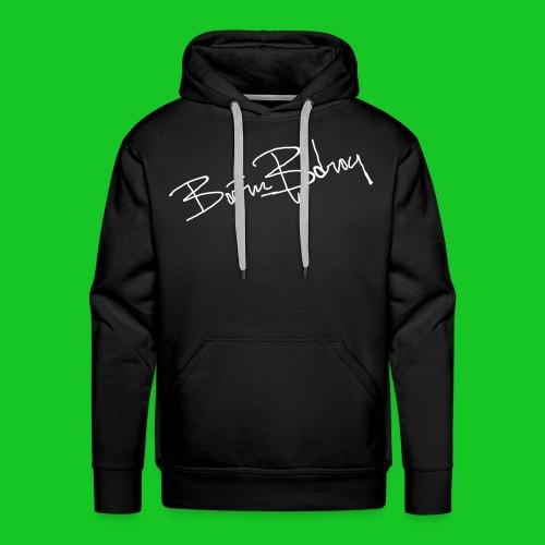 Boern en Bdrog mannesweater met capuchon - Mannen Premium hoodie