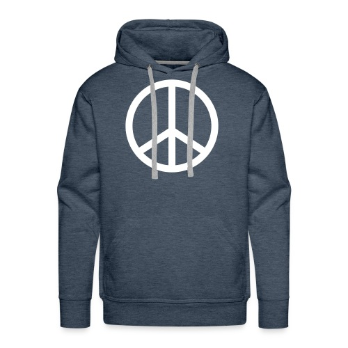 Peace - Mannen Premium hoodie