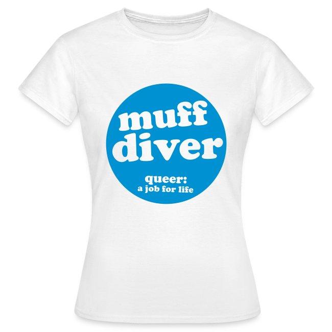 muff diver blue