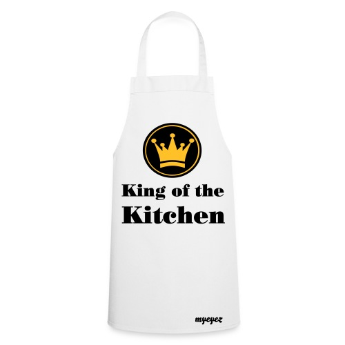 king of the kitchen apron  - Cooking Apron