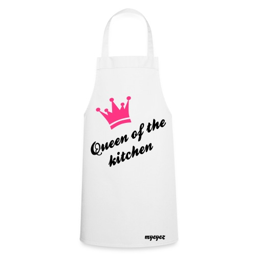 queen of the kitchen apron  - Cooking Apron
