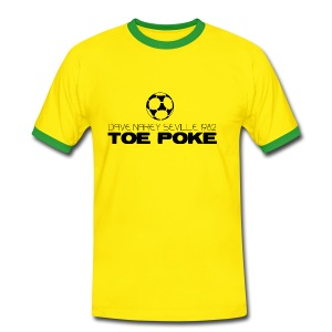 Toe Poke - Men's Ringer Shirt