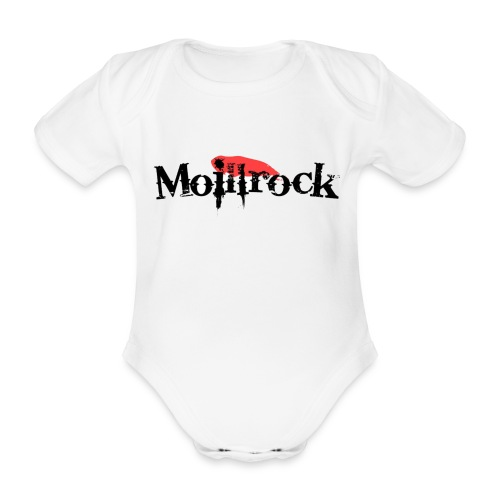 Moillbabybody - Økologisk kortermet baby-body