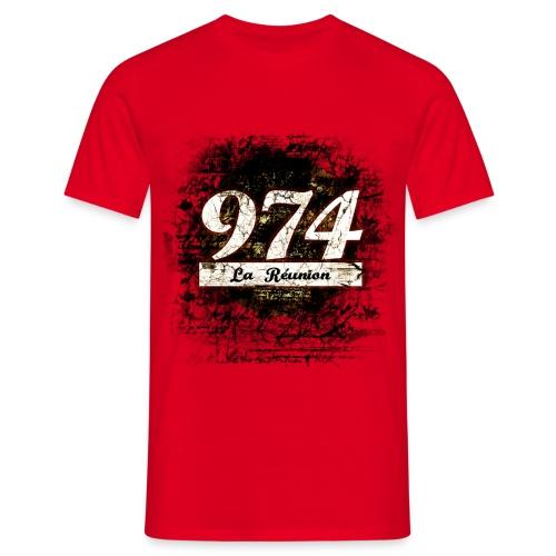 T-Shirt Homme Reunion - T-shirt Homme
