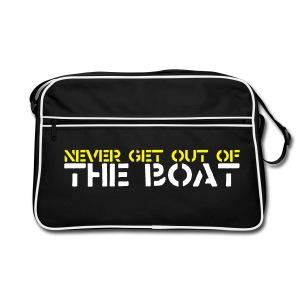Never Get out of the Bag - Retro Bag