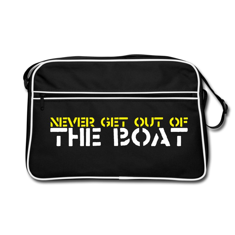 Never Get out of the Bag - Retro Bag