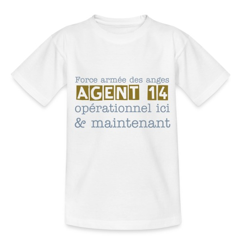 Ange des engagements - 14 - T-shirt Ado