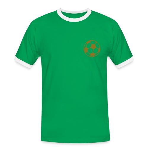 Fanshirt Portugal - Männer Kontrast-T-Shirt