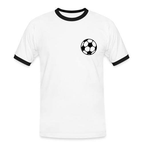 Fanshirt Brasilien - Männer Kontrast-T-Shirt
