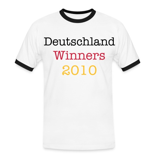 Deutschland  - Men's Ringer Shirt