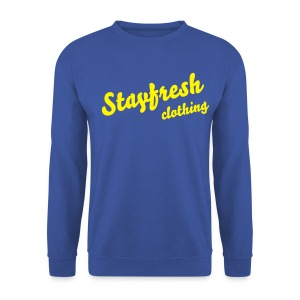 Vintage Style Crew Neck  - Men's Sweatshirt
