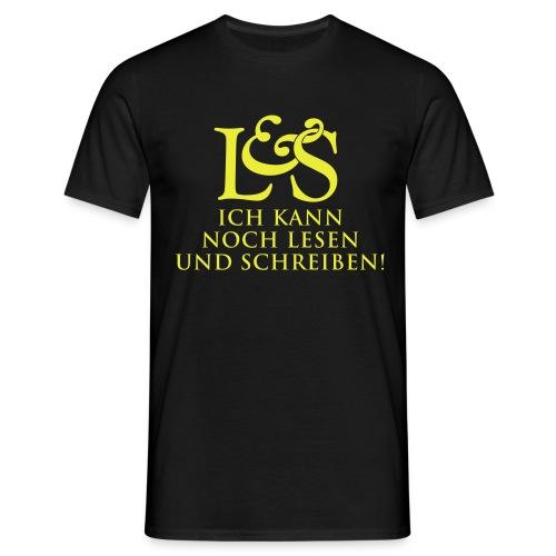 Lesen & Schreiben - Männer T-Shirt