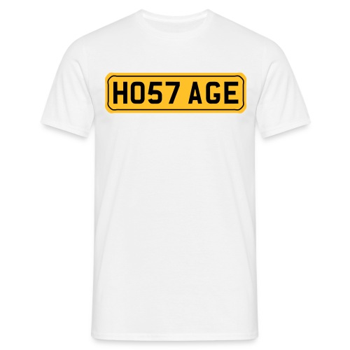 HO57AGE TO A  T  - Men's T-Shirt