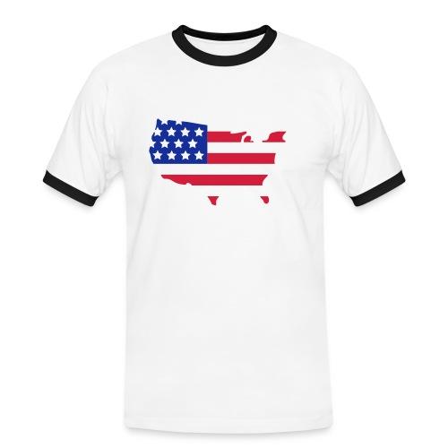 Women''s Team USA Long Sleeve Shirt - Men's Ringer Shirt