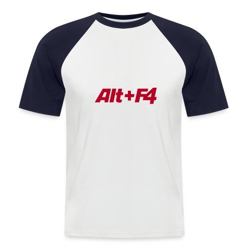 Tee-shirt ALTF4 - T-shirt baseball manches courtes Homme