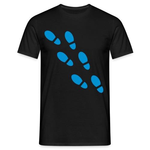 Huellas - Camiseta hombre