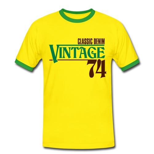 bw - T-shirt contrasté Homme