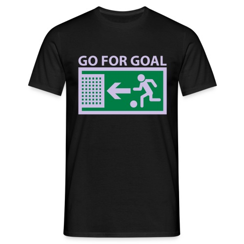 Go for Goal Shirt - Männer T-Shirt