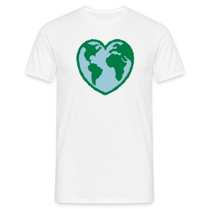 i love earth - Men's T-Shirt