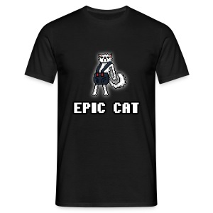 Pixel Epic Cat (HERR) - T-shirt herr