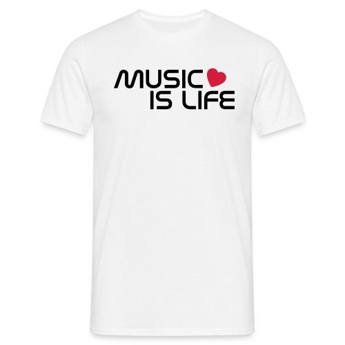 Music is life - Koszulka męska