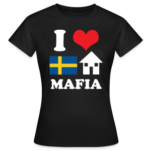 Woman - I Love Swedish House Mafia Black - Women's T-Shirt