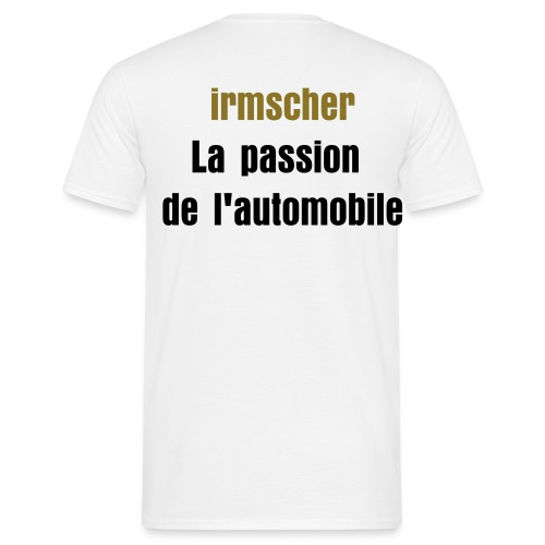 maillot irmscher la passion de l'automobile. - T-shirt Homme