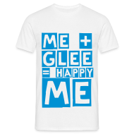 T-Shirts ~ Men's T-Shirt ~ happy glee (M)