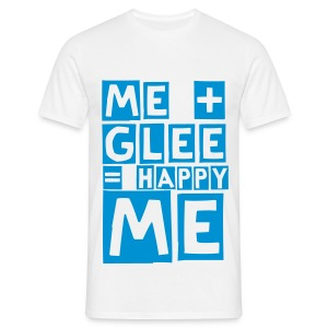 happy glee (M) - Men's T-Shirt