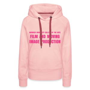 Ladies Girly Hoody PINK - Women's Premium Hoodie