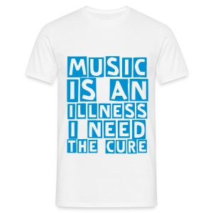 music illness (M) - Men's T-Shirt