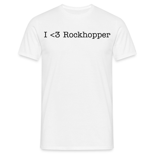 I love Rockhopper - Men's T-Shirt