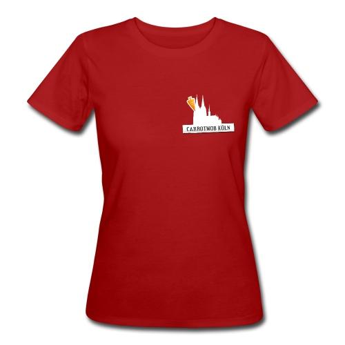 Carrotmob Köln Dom1 Brust - Frauen Bio-T-Shirt