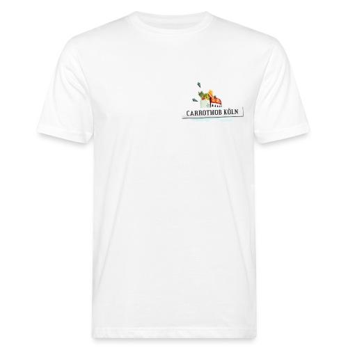 Carrotmob Köln Logo1 Brust - Männer Bio-T-Shirt