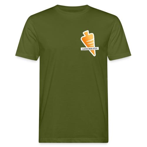Carrotmob Köln Karotte1 Brust - Männer Bio-T-Shirt