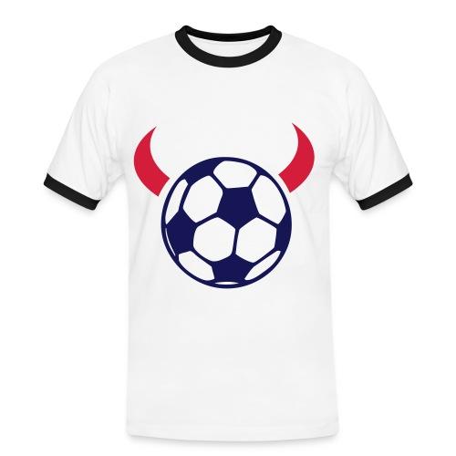 fankult teufelsball - Männer Kontrast-T-Shirt
