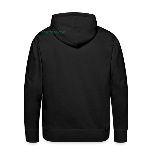 pineapple the real one green sparkle - Männer Premium Hoodie