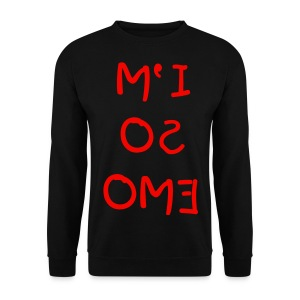 i'm so emo sweater  - Mannen sweater