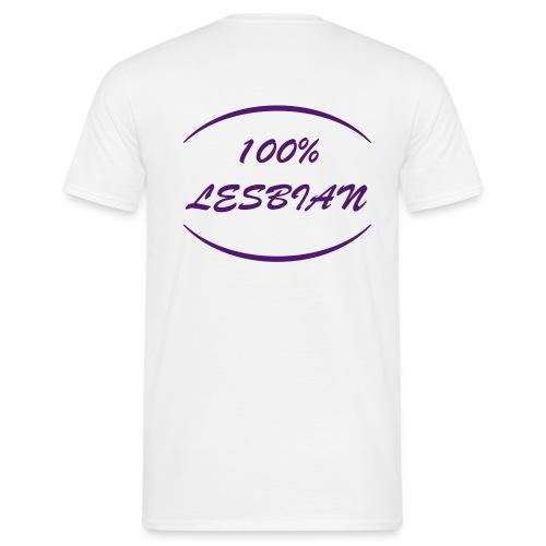 100 % LESB - T-shirt Homme