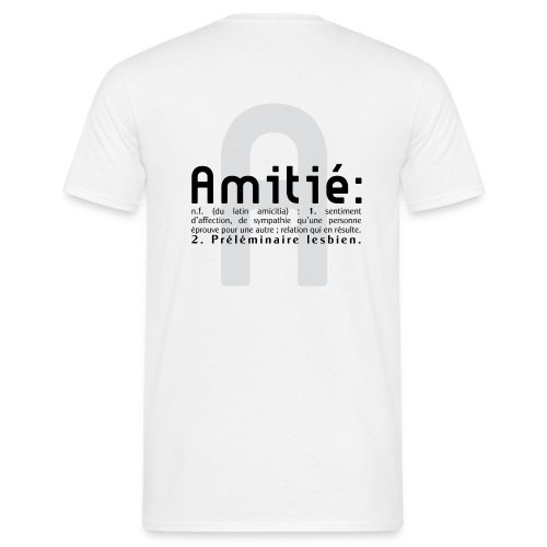 AMITIE - T-shirt Homme