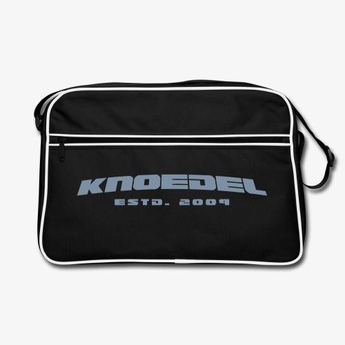 Knoedel - Tasche - Silber - Retro Tasche